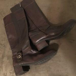 Bandolino Codi Riding Boots in Brown